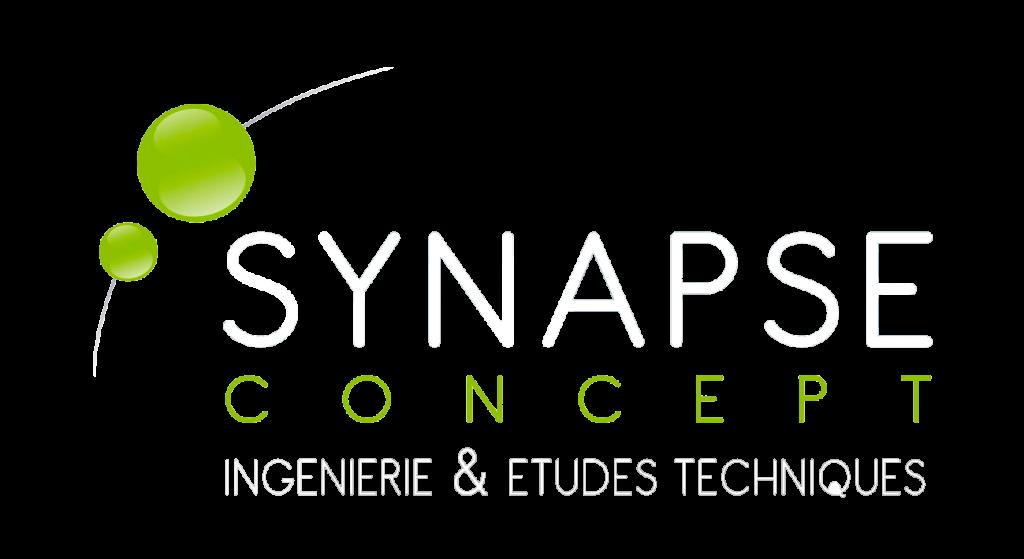 logo Synapse Concept en blanc