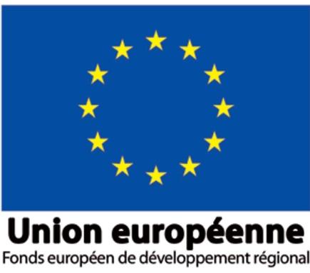 logo fonds européen de développement régional